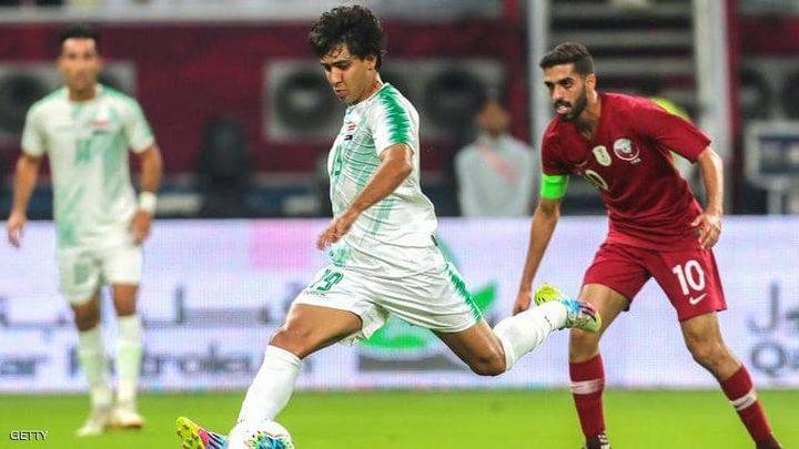 العراق تفوز على قطر في افتتاح كأس الخليج 24