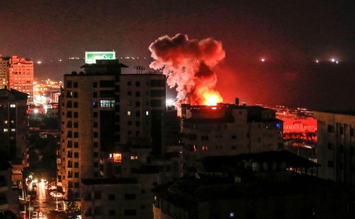 طائرات الاحتلال تُغير على مواقع للمقاومة في قطاع غزة