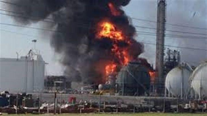 انفجار بمصنع كيماويات في امريكا