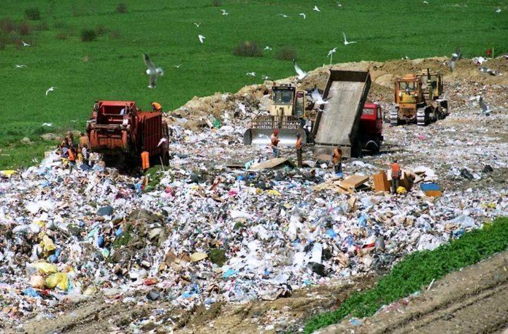 إسرائيل تُلقي ثلاثة مليار شيقل سنوياً في القمامة