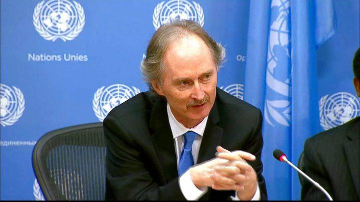 "بيدرسون يُعلن انتهاء محادثات ""دستور سوريا"" دون توافق"