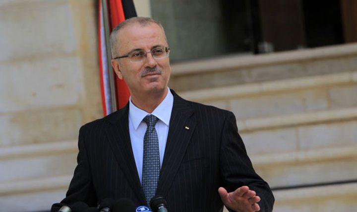 الحمد الله: التضامن الفعلي مع شعبنا يتمثل بانهاء الاحتلال