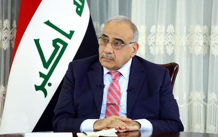 رئيس الوزراء العراقي عبد المهدي يعتزم الاستقالة