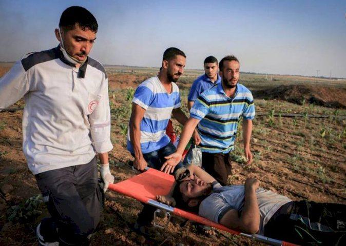 شهيد وخمس إصابات برصاص قوات الاحتلال شرق خانيونس