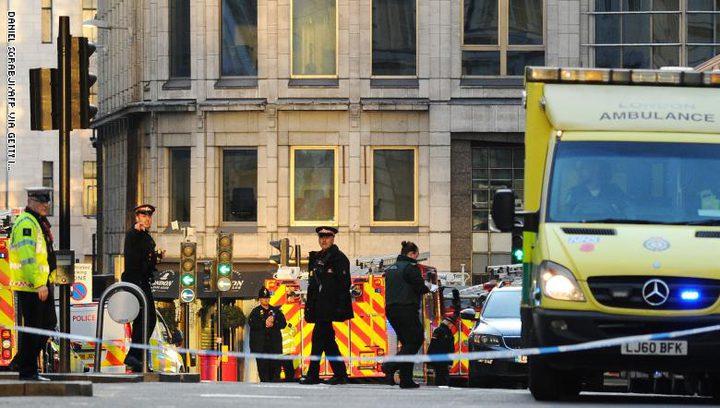بريطانيا: قتلى وجرحى في حادثة طعن بلندن