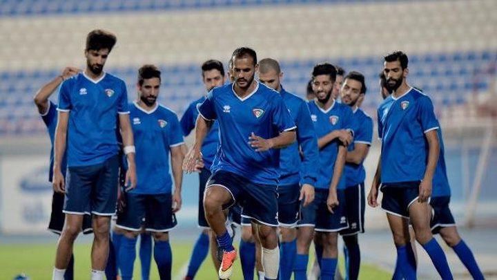 منتخب الشباب الكويتي يواجه المنتخب الفلسطيني