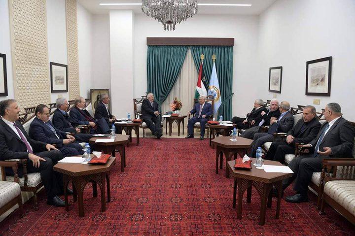 الرئيس: سندرس رد حماس والفصائل على ورقة الانتخابات خلال أيام