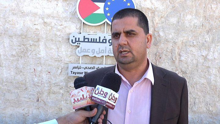 مشاريع الاتحاد الاوروبي شمال الضفة الغربية دعماً لصمود المواطنين