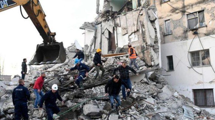 ألبانيا :ارتفاع حصيلة ضحايا زلزال إلى 51 قتيلا