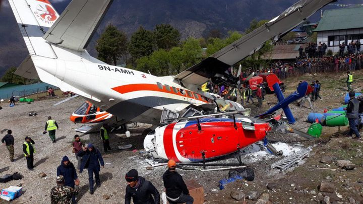 أمريكا: مصرع 9 أشخاص واصابة 3 أخرين بتحطم طائرة