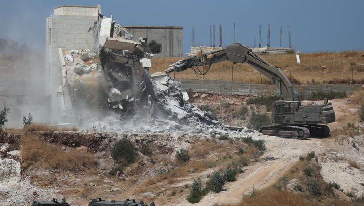 مركز حقوقي:المستوطنات بالقدس تقام على انقاض منازل الفلسطينيين