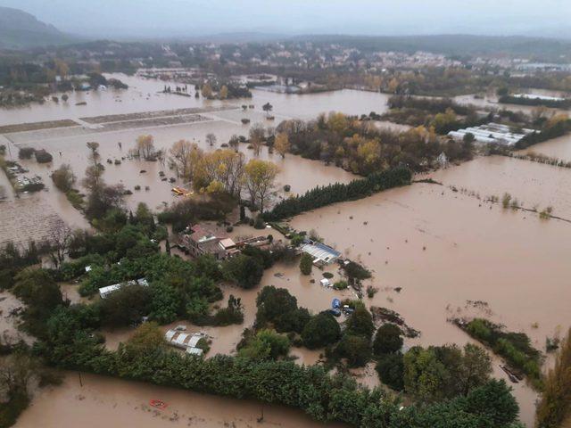 5قتلى جراء الفيضانات في فرنسا