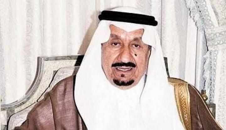 وفاة الأمير متعب بن عبد العزيز آل سعود