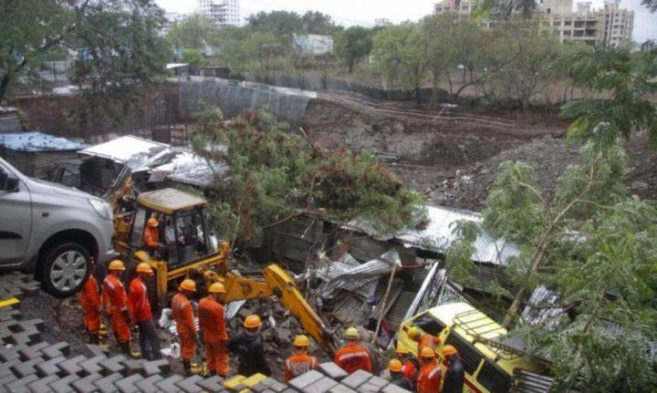 الهند: مصرع 17 شخصًا إثر انهيار جدار