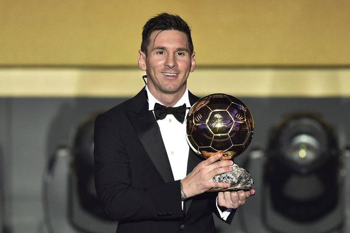 للمرة السادسة على التوالي.. ميسي يفوز بجائزة الكرة الذهبية 2019