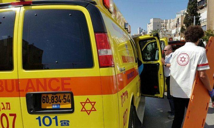إصابة فتى بحادث طرق في يافا