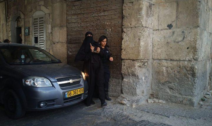 اعتقال ابنة شقيقة الشيخ رائد صلاح في القدس