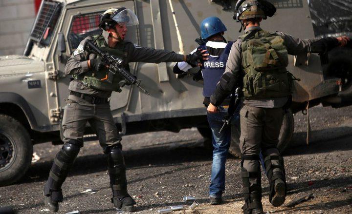 استهداف أكثر من 19 صحفياً من قبل الاحتلال الاسرائيلي