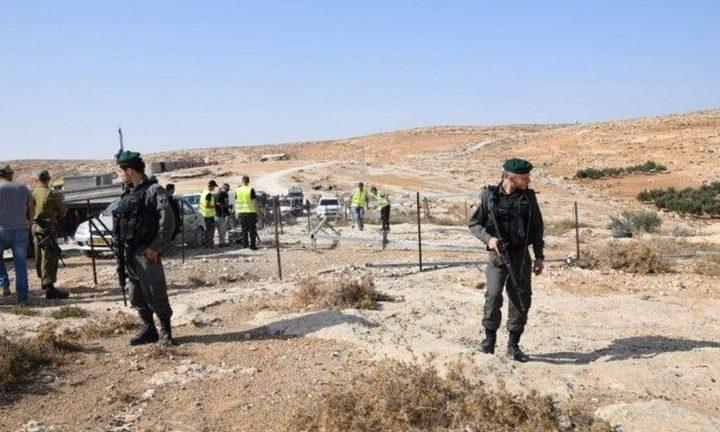 الاحتلال يخطر بالاستيلاء على أراضٍ في الجبعة