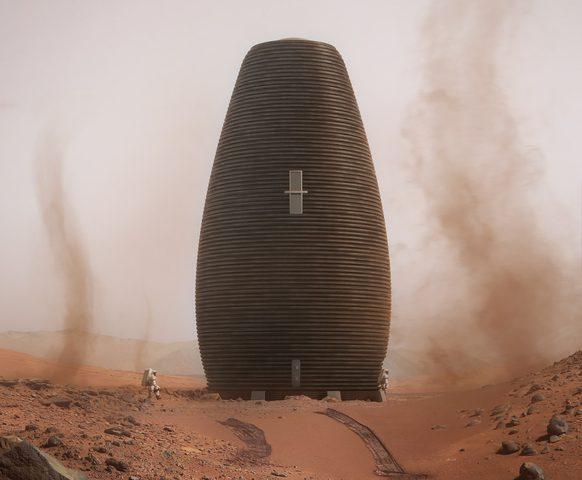 ناسا تسعى لتصميم منازل مستوحاة من كوكب المريخ