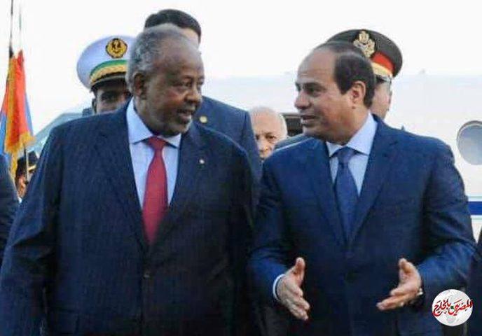 السيسي: مصر على استعداد لارسال مساعدات لجيبوتي