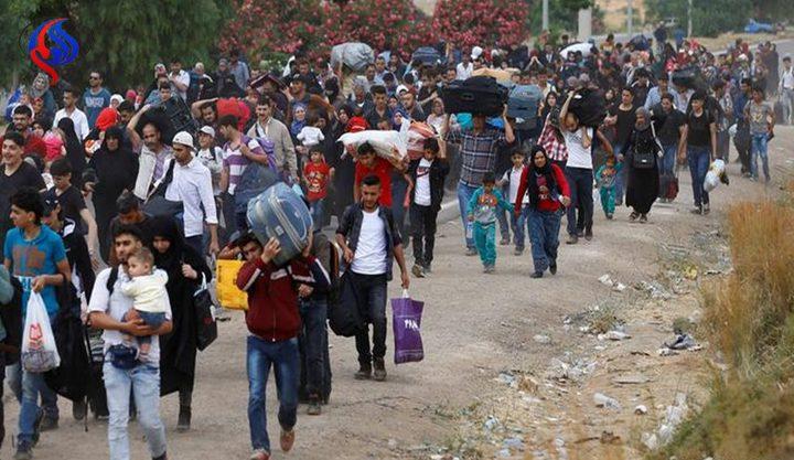 1489 نازحاً سورياً يغادرون لبنان