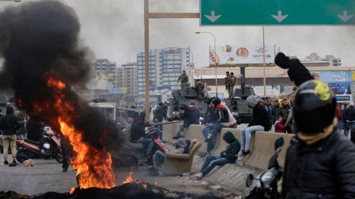 اشتباكات بين قوات الأمن والمتظاهرين وسط بيروت