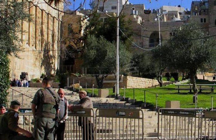 مخططات لفرض سيطرة الاحتلال بشكل كامل على الحرم الابراهيمي