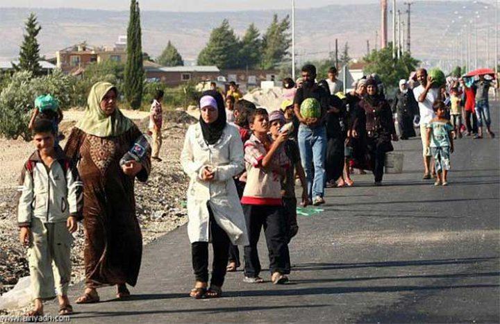 مليون لاجئ سوري يعودون لبلادهم