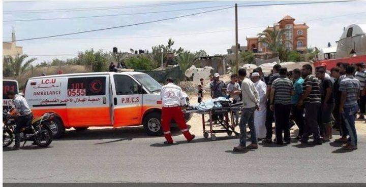مصرع مُسن في حادث سير جنوب قطاع غزة