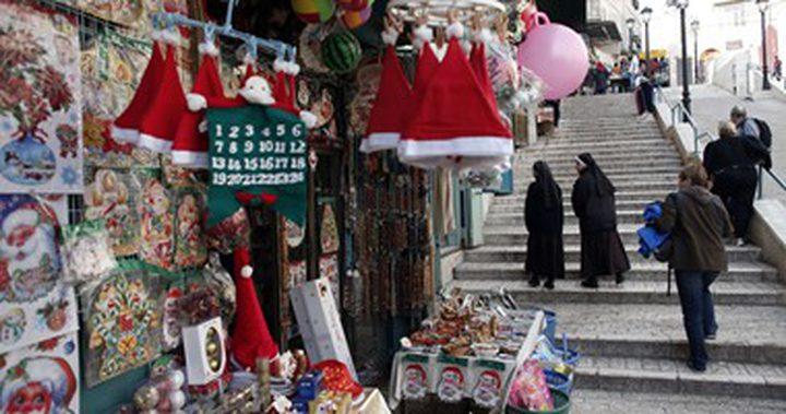بلدية بيت لحم تفتتح سوق الميلاد الـ19