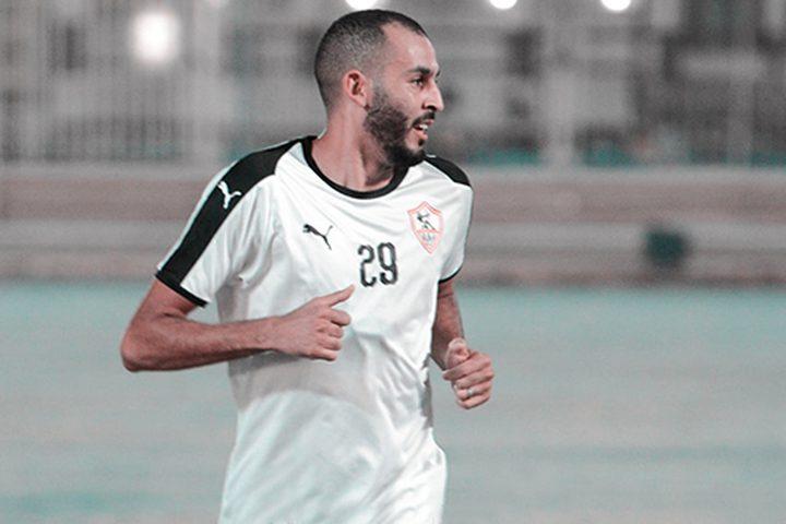 الزمالك يفسخ عقده مع المغربي خالد بوطيب