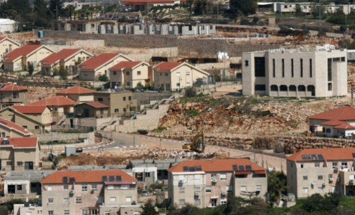 تقرير: إجماع إسرائيلي على سياسة التوسع الاستيطاني بدعم امريكي