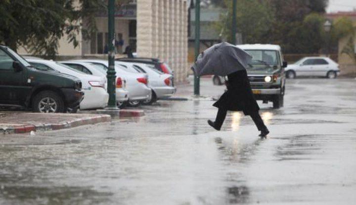 طقس فلسطين: منخفض جوي وأمطار مصحوبة بعواصف رعدية