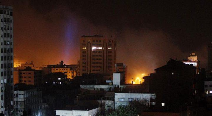 إصابتان بقصف إسرائيلي على غزة