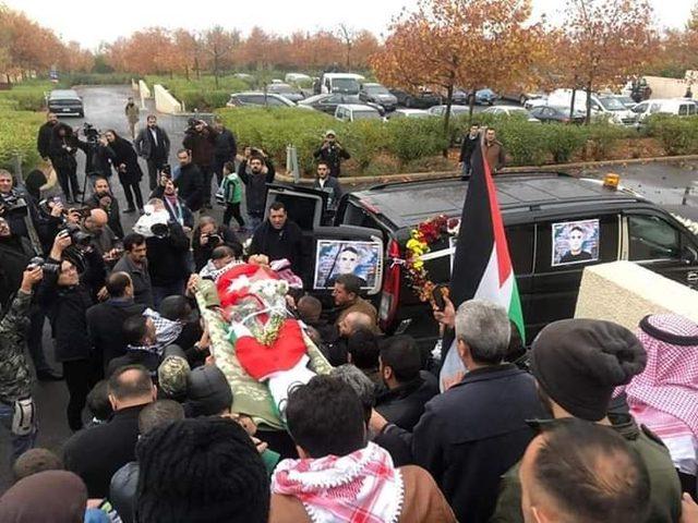 جماهير غفيرة تشيّع جثمان الشهيد الأسير سامي أبو دياك في عمان
