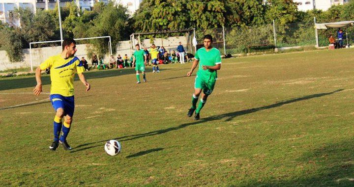 انتهاء لقاءات الدور التمهيدي الثاني من بطولة كأس فلسطين