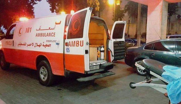 مصرع طفلة جراء سقوطها من علو في حي كفر سابا بقلقيلية