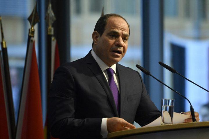 السيسي : الأزمة الليبية في الطريق للحل السلمي