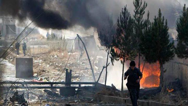 انتحاري يفجر نفسة في قاعدة امريكية بأفغانستان