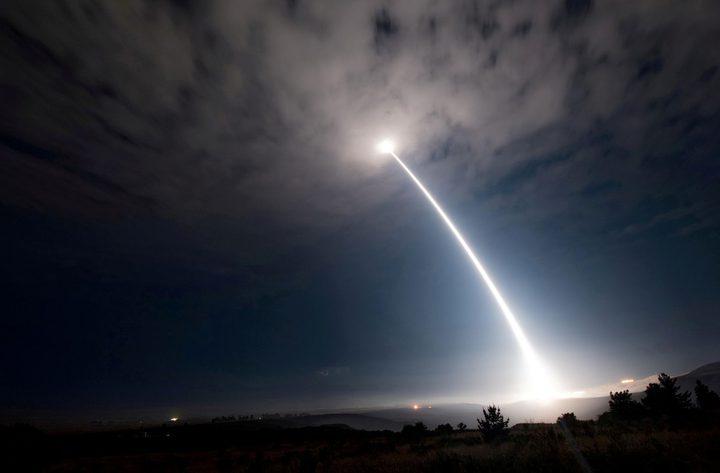 قلق من اختبار الولايات المتحدة صاروخا باليستيا محظورا