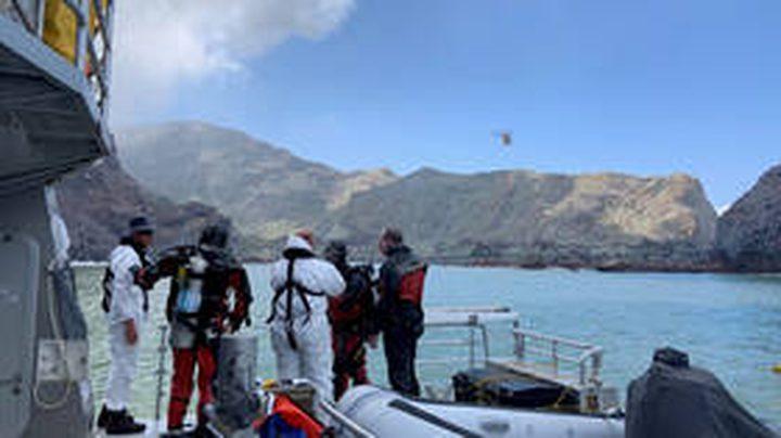 فشل في استعادة جثث ضحايا بركان يوزيلندا