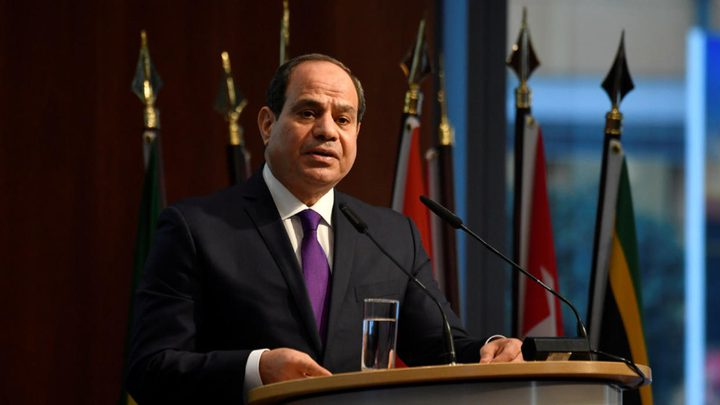 السيسي: مصر امتنعت عن التدخل المباشر في ليبيا