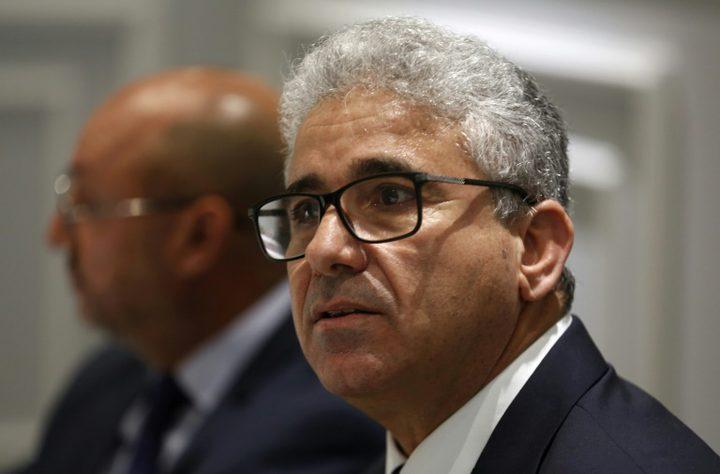 قوات حفتر تعلن إصابة وزير الداخلية جراء محاولة اغتيال