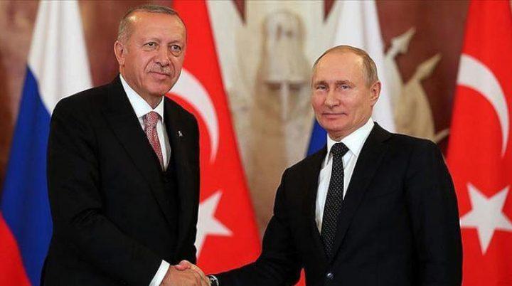 مباحثات تركية روسية لبحث الوضع في إدلب وليبيا