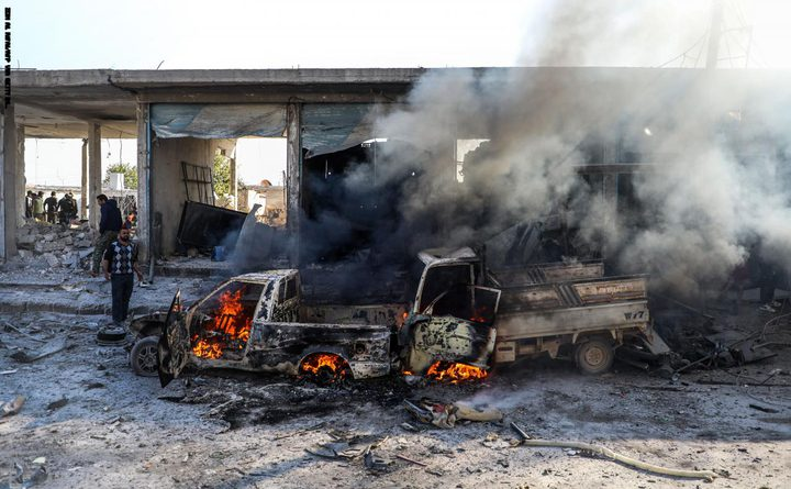 سوريا: مقتل 8 مدنيين في انفجار سيارة مفخخة