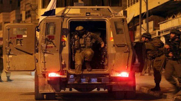 حملة اقتحامات واعتقالات في مختلف مدن الضفة