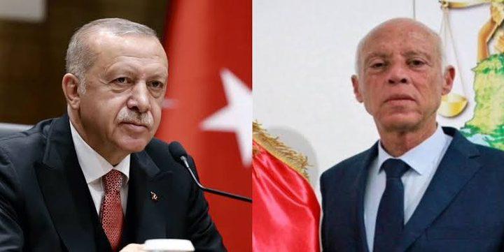 لقاء بين أردوغان ونظيره التونسي لبحث الملف الليبي