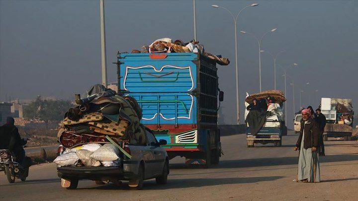 """""""يونيسيف"""":60 ألف طفل نزحوا جراء القتال شمال غربي سوريا"""