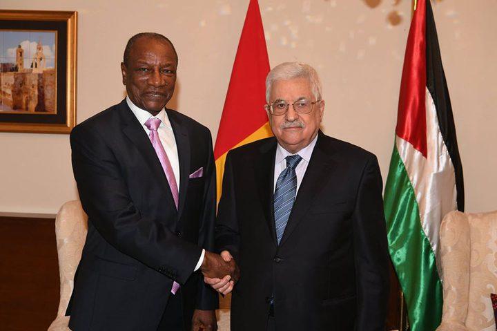 غينيا تؤكد مواقفها الثابتة تجاه القضية الفلسطينية